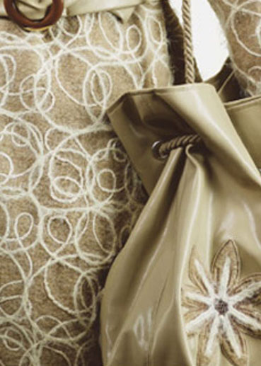 Decorate with Yarn Couching #207