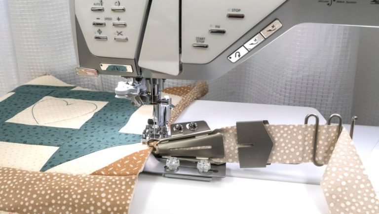 Quilt Binder Foot For IDF (Foot plate only)